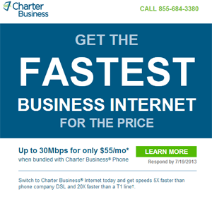 Charter Small Biz Advertisement