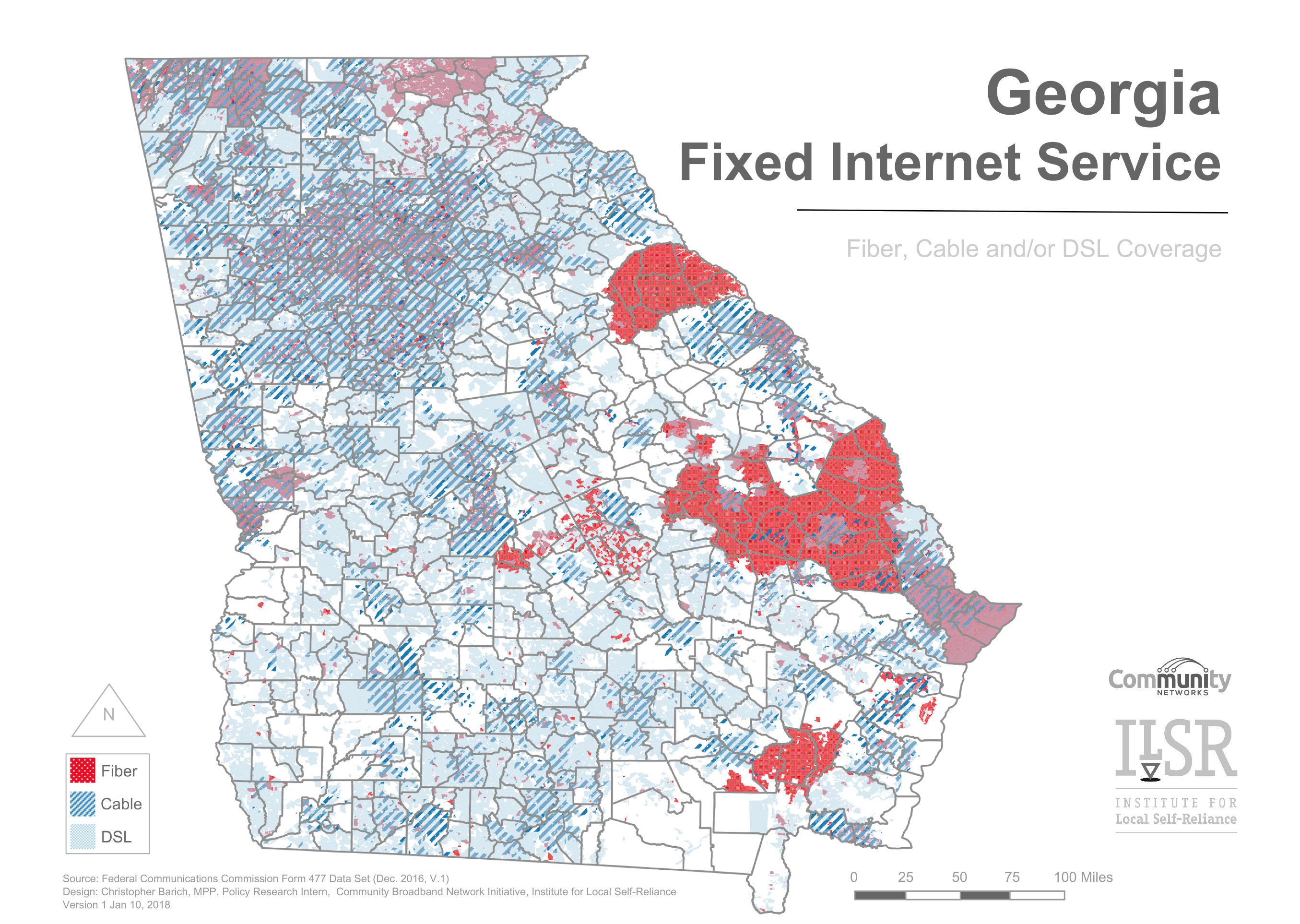 Mapping The Urban-Rural Digital Divide In Georgia | community ... on