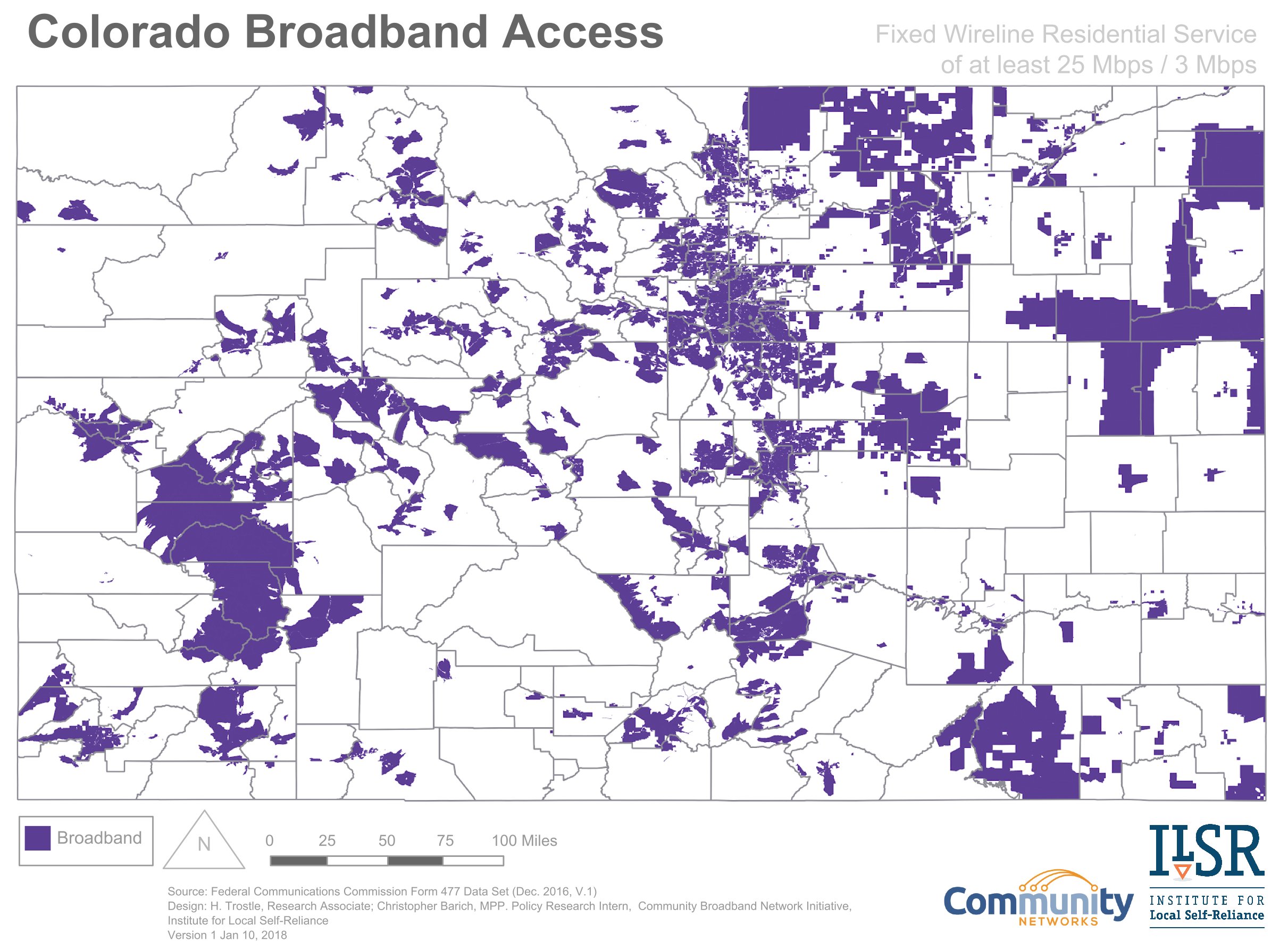Colorado broadband service
