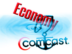 Comcast Anchor on Economy