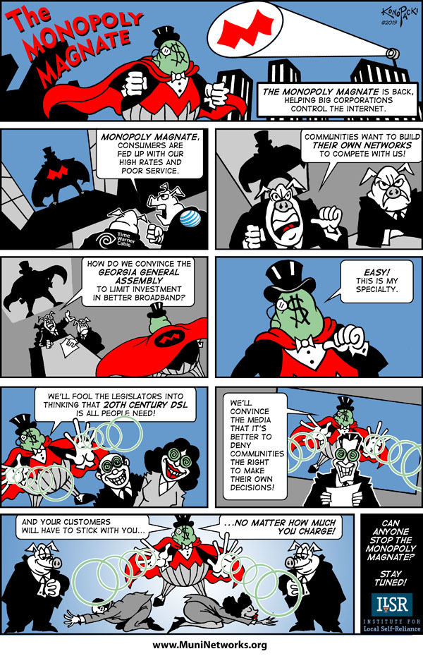 Monopoly Magnate Comic