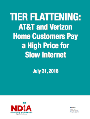 Tier Flattening: AT&T and Verizon Home Customers Pay a High
