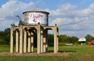 Dayton TX water tower