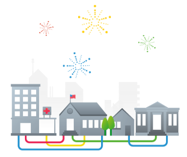Google Fiber Graphic