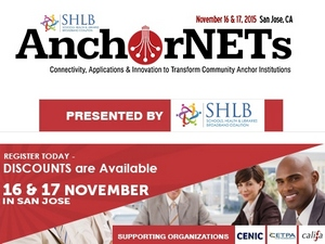AnchorNETS Conference Nov. 16th - 17th in Mountainview, CA