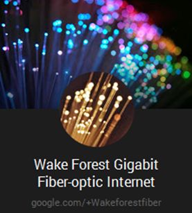 Wake Forest Gigabit Logo