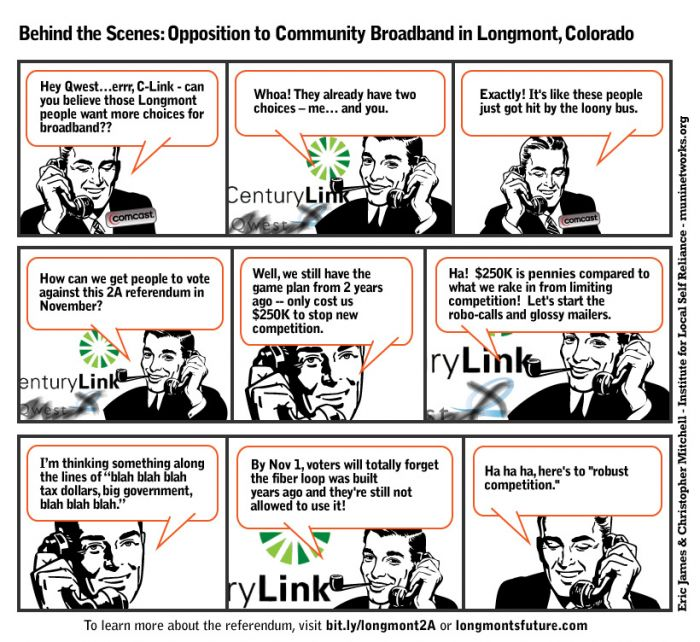 Longmont Comcast Comic