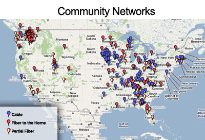 Community Networks Map