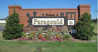 Paragould Welcome Sign